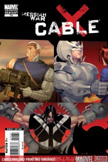 Cable (2008) #14 (2ND PRINTING VARIANT)