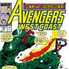 Avengers West Coast #54 cover by John Byrne