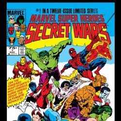 SECRET WARS OMNIBUS #0