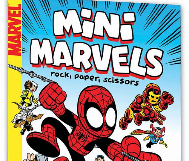 MINI MARVELS: ROCK, PAPER, SCISSORS #0
