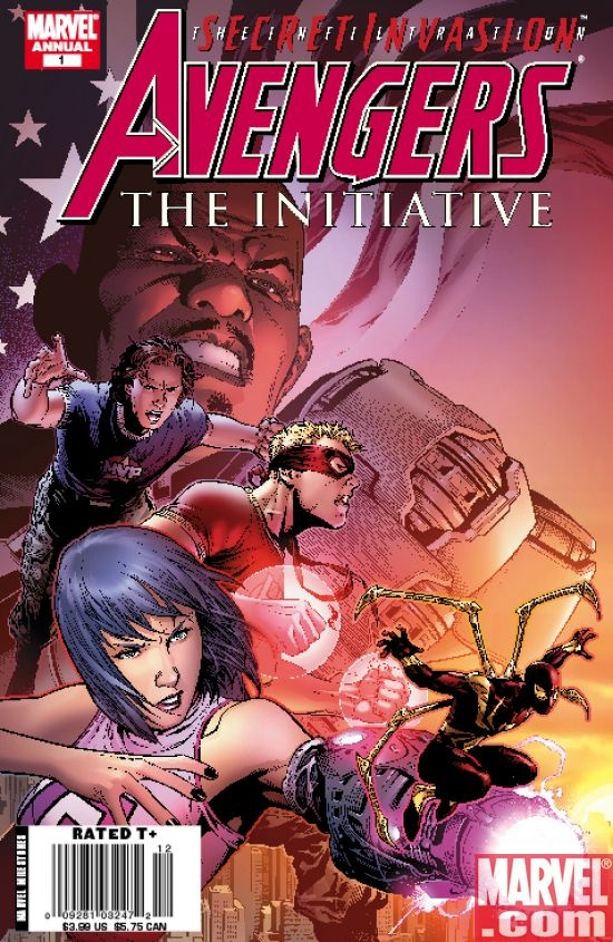 Avengers: The Initiative Annual #1 Cover