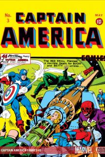 CAPTAIN AMERICA COMICS #3 COVER