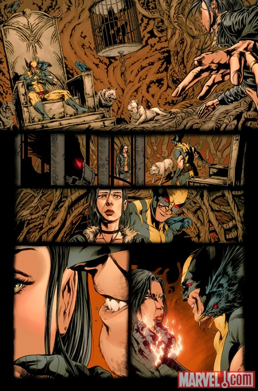 x-23 #1 preview art by Will Conrad 1