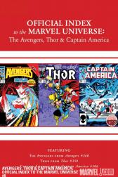 Avengers, Thor &amp; Captain America: Official Index to the Marvel Universe #8 