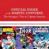 Avengers, Thor &amp; Captain America: Official Index to the Marvel Universe (2010) #8
