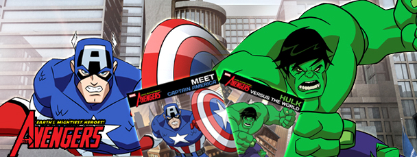 Two New Avengers Storybooks for Kids