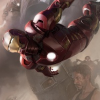 Iron Man SDCC 2011 exclusive concept art poster