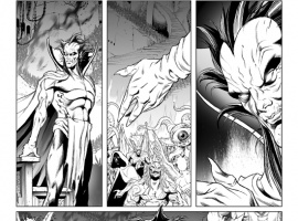 Journey Into Mystery #627 preview inks by Richard Elson