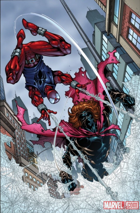 The Scarlet Spider vs Kaine by Todd Nauck