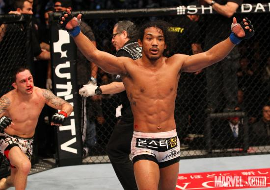 Benson Henderson (photo courtesy of UFC)