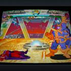 Screenshot of Thanos vs. Magneto in Marvel vs. Capcom Origins
