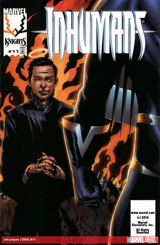 Inhumans (1998) #11 Cover