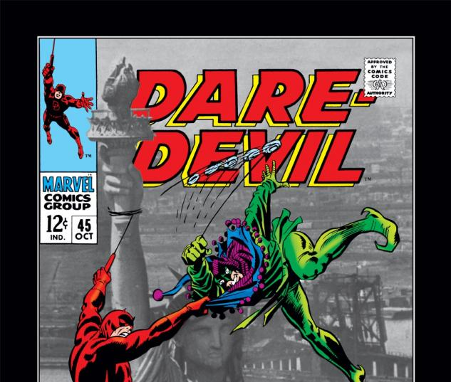Daredevil (1963) #45 Cover