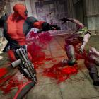 Deadpool shows off in the Deadpool video game