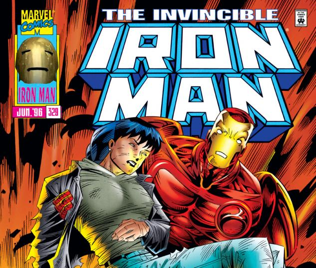 Iron Man (1968) #329 Cover