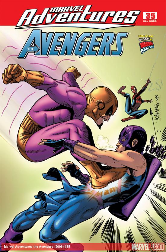 Marvel Adventures the Avengers (2006) #35