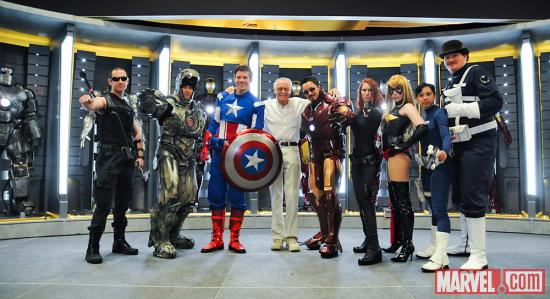 SDCC 2012: Stan Lee at the Marvel Cosplay Gathering