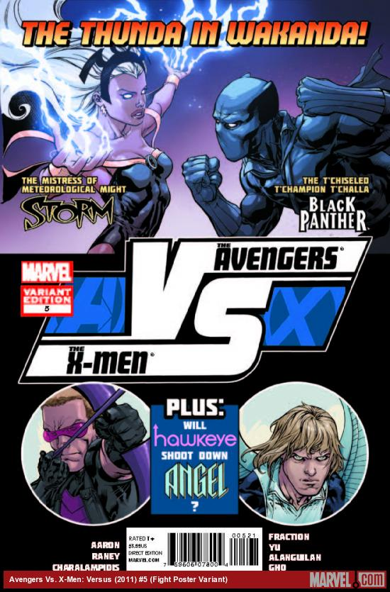 AVX: VS 5 FIGHT POSTER VARIANT (1 FOR 20, AVX, WITH DIGITAL CODE)