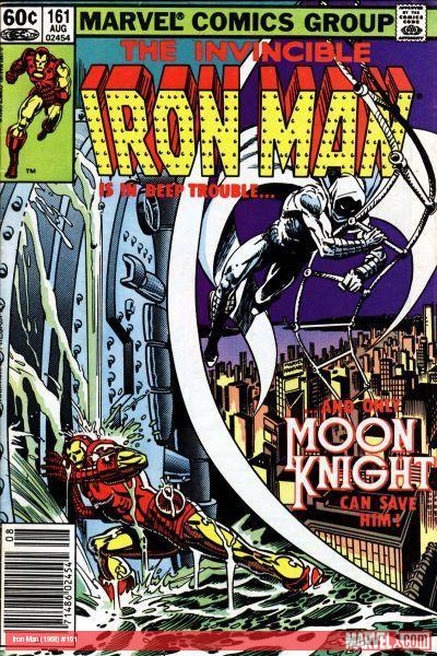 Iron Man (1968) #161 cover