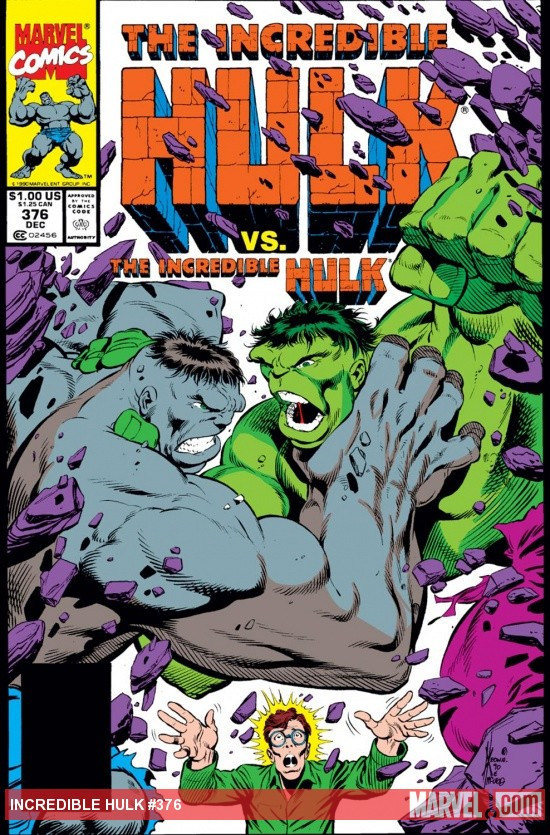 Incredible Hulk (1962) #376 Cover