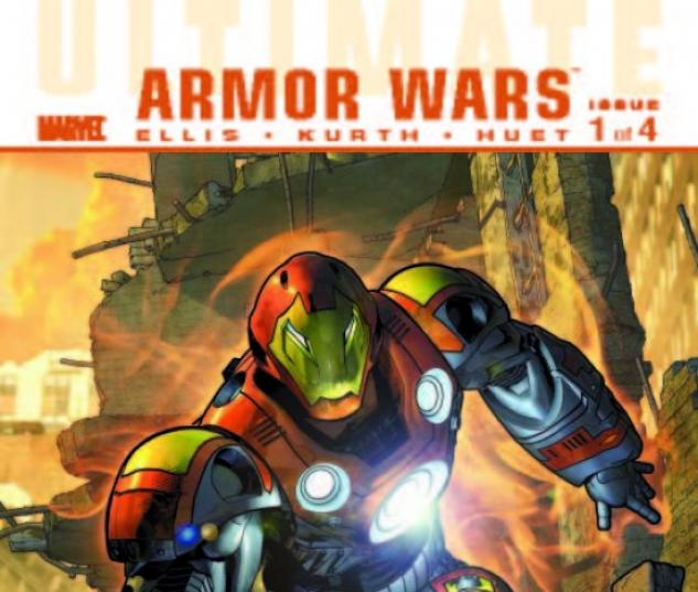 ULTIMATE COMICS ARMOR WARS #1