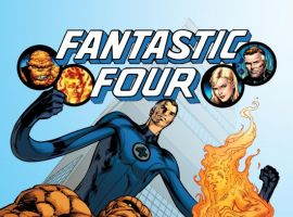 FANTASTIC FOUR #570 cover by Alan Davis