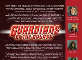 GUARDIANS OF THE GALAXY #11 preview page 1
