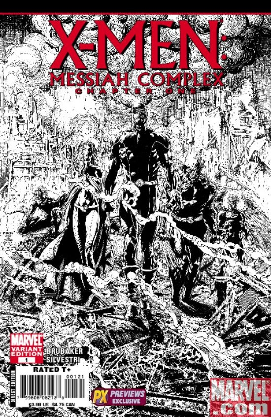 X-Men: Messiah CompleX One-Shot (Previews variant)