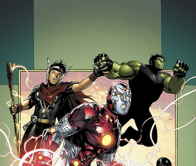 YOUNG AVENGERS (2006) #3 COVER