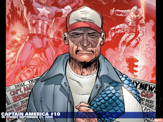 Captain America (2002) #10 Wallpaper