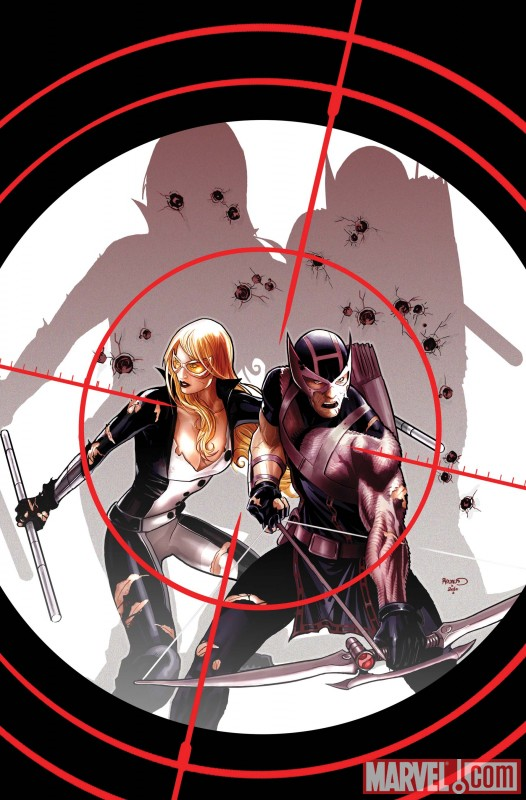 HAWKEYE & MOCKINGBIRD #3 cover by Paul Renaud