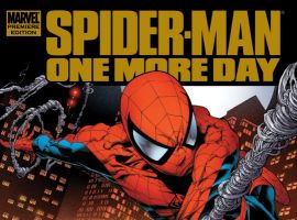SPIDER-MAN: ONE MORE DAY Premiere Edition Hardcover cover art by Joe Quesada