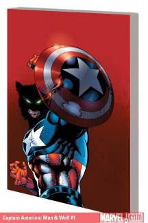 Captain America: Man & Wolf (Trade Paperback)