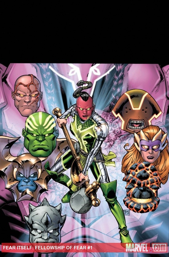 Fear Itself: Fellowship of Fear cover