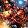 Iron Man: The Five Nightmares trade paperback cover by Joe Quesada