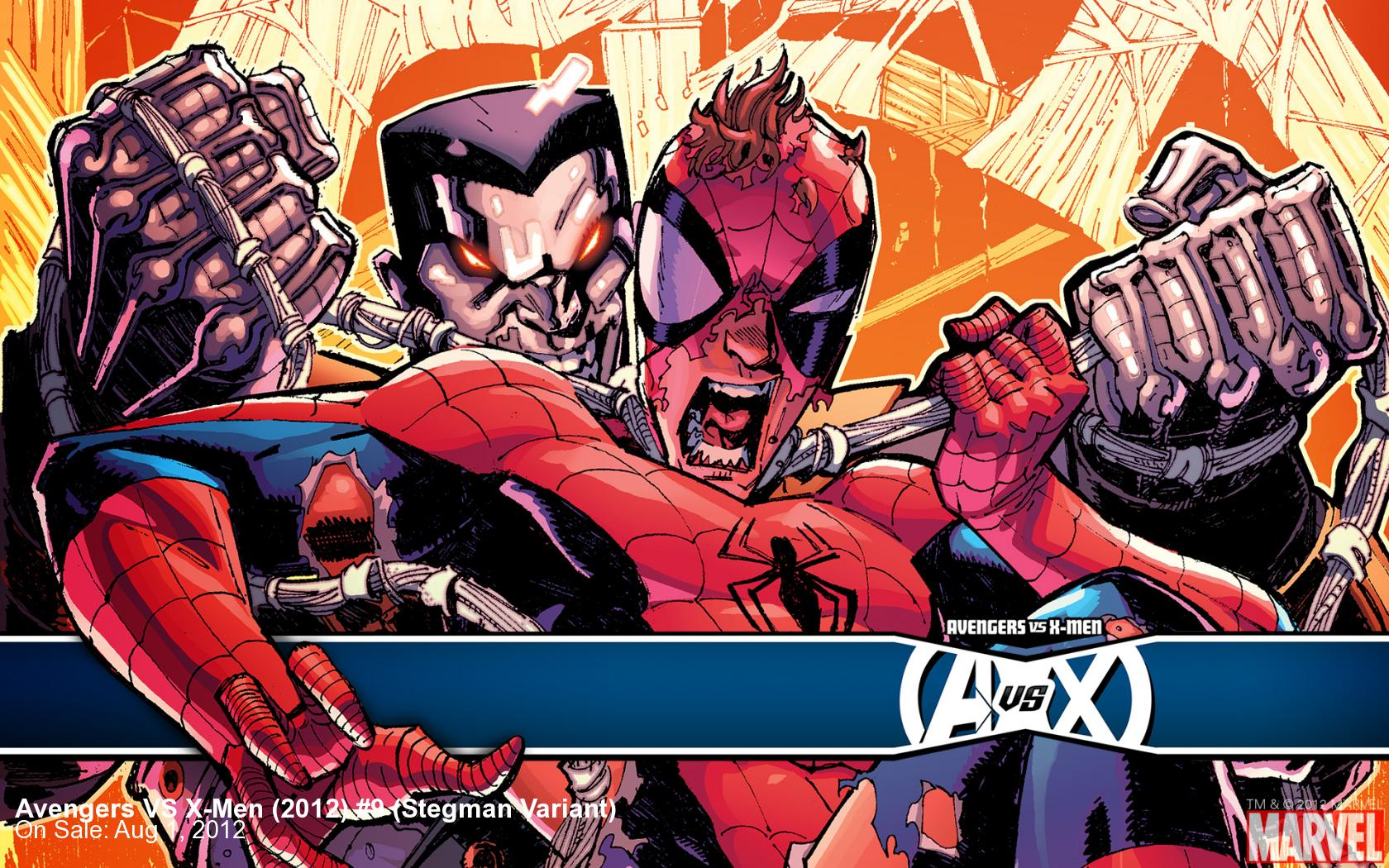 Avengers VS X-Men (2012) #9 (Stegman Variant)