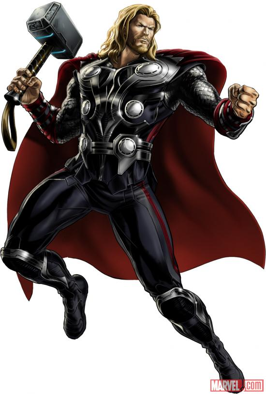 Thor (Marvel's The Avengers alternate costume) in Marvel: Avengers Alliance