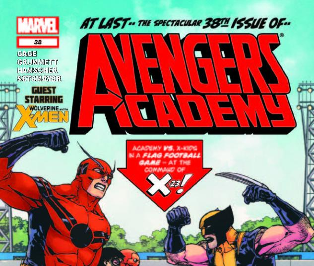 AVENGERS ACADEMY 38