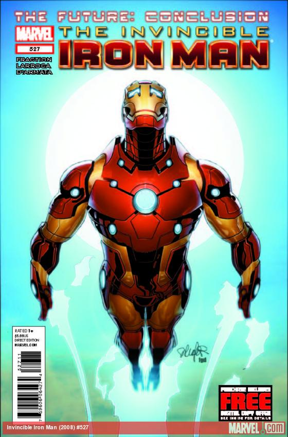 INVINCIBLE IRON MAN 527 (WITH DIGITAL CODE)