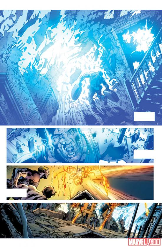 Age of Ultron #1 preview art by Bryan Hitch