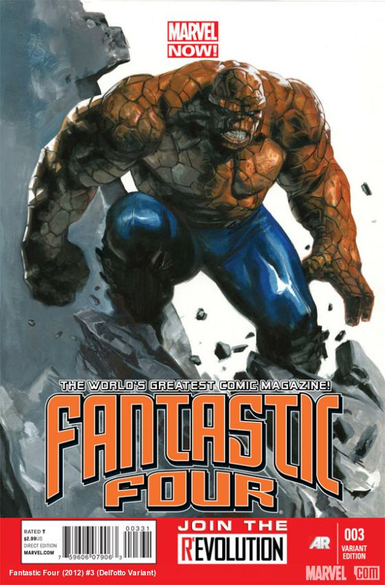 Fantastic Four #3 Dell'otto Variant