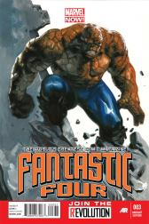Fantastic Four #3  (Dell'otto Variant)