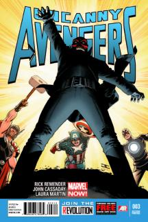 Uncanny Avengers #3  (2nd Printing Variant)