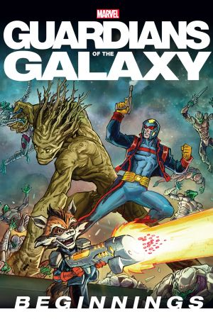 Guardians of the Galaxy: Beginnings storybook cover art