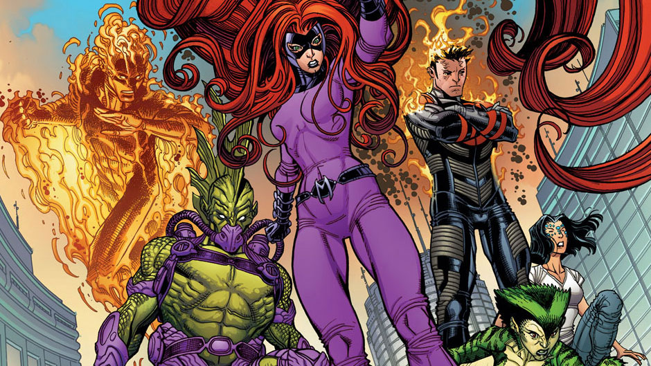 All About Marvel's Inhumans