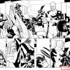 UNCANNY X-MEN #513 black and white preview art by Terry Dodson