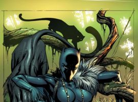 BLACK PANTHER #1 cover by J. Scott Campbell