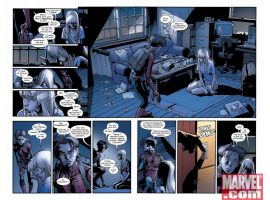 ULTIMATE SPIDER-MAN #128, pages 4-5