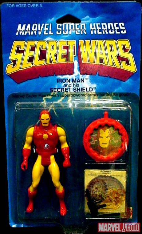 Secret Wars Iron Man Toy