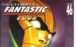 ULTIMATE FANTASTIC FOUR #46 cover by Pasqual Ferry